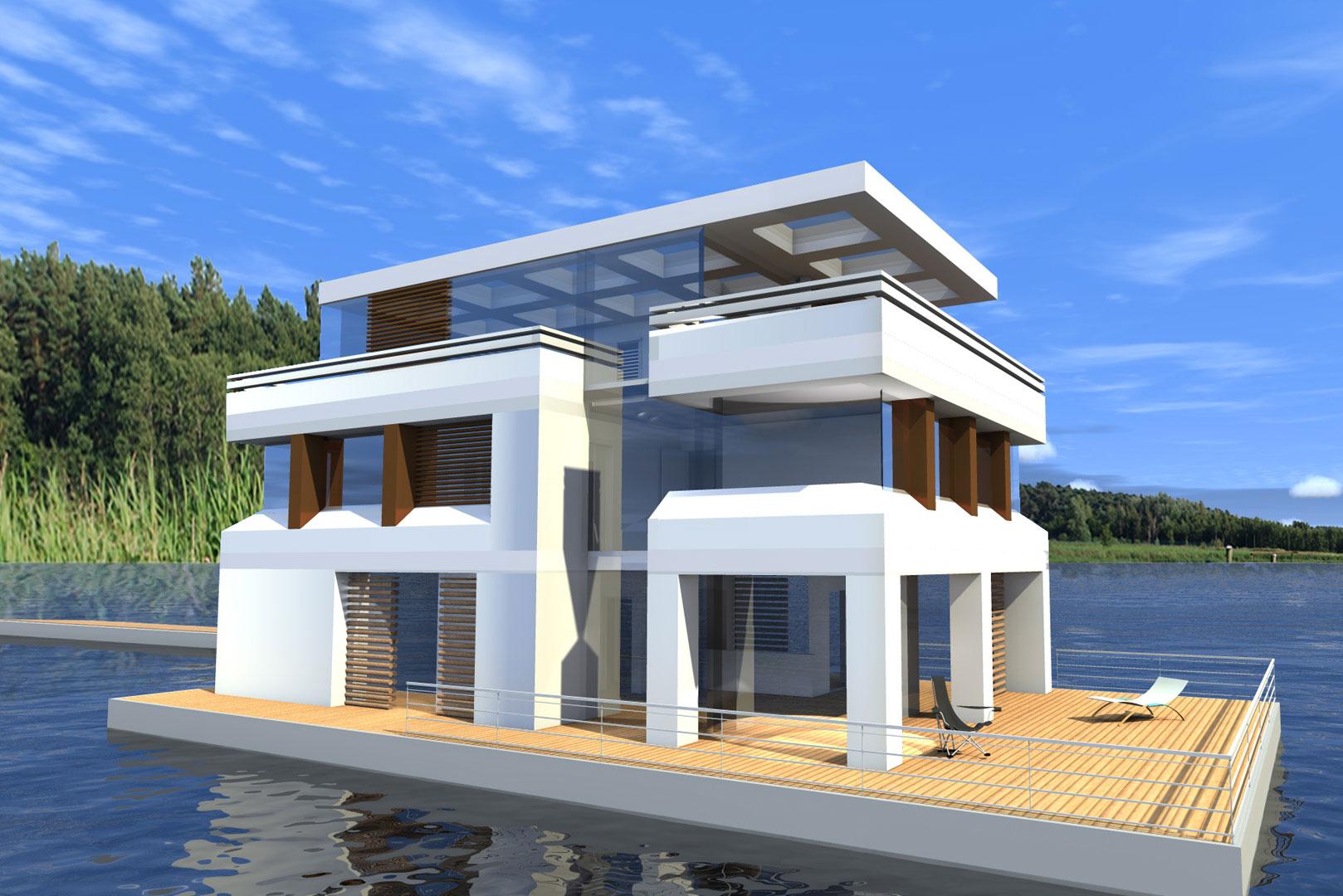 schwimmende h user floating 265 kaufen. Black Bedroom Furniture Sets. Home Design Ideas