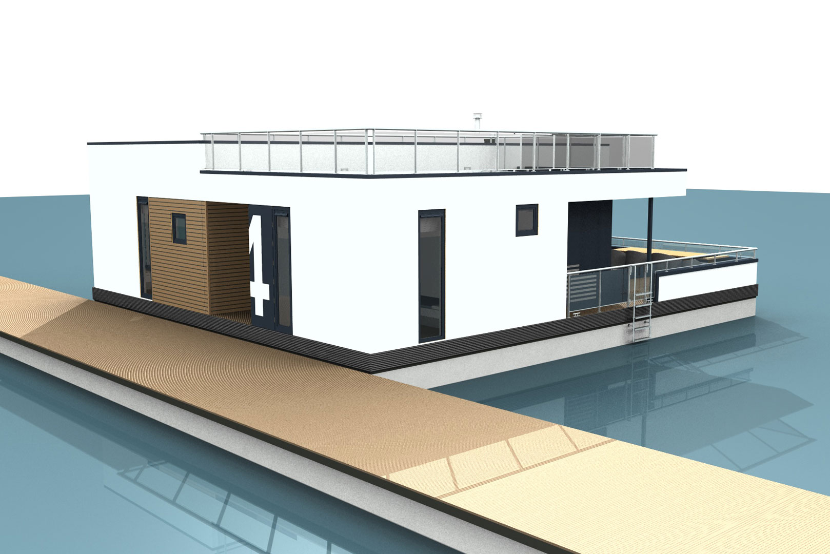 floating house ostsee