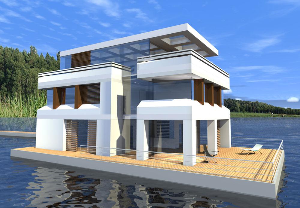 hausboote und schwimmende h user preise liegeplatz ausstattung berlin. Black Bedroom Furniture Sets. Home Design Ideas