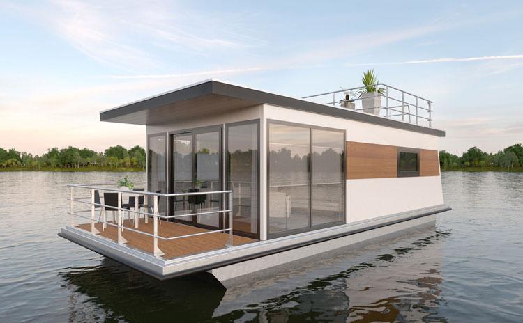 Hausboot Kaufen Und Wohnen Auf Dem Hausboot Hausboote Mieten