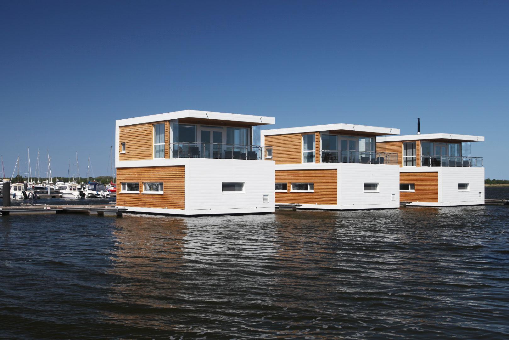 Schwimmende Hauser Floating 100 Mieten Und Kaufen Ostsee Kroslin